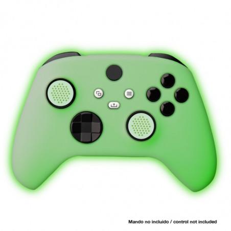 xbox series x - Siliconen controller skin en thumb grips voor Xbox series X controller - Glow in the Dark