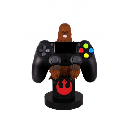 Cable Guy - Chewbacca telefoonhouder - game controller stand met usb oplaadkabel 8 inch