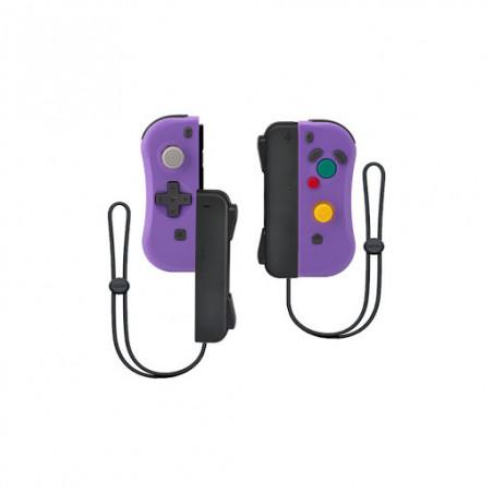 Under Control - Nintendo Switch ii-con Controller - Violet - Met polsbandjes