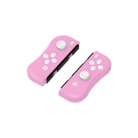 Under Control - Nintendo Switch ii-con Controllers - Roze met polsbandjes