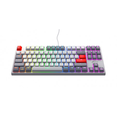 Xtrfy K4 TKL - Mechanisch Gaming toetsenbord met RGB Retro Edition - AZERTY Belgisch layout