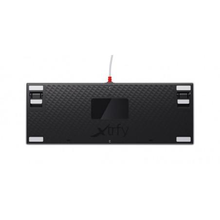 Xtrfy K4 TKL - Mechanisch Gaming toetsenbord met RGB US Layout - Retro Edition