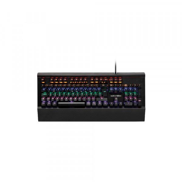 Under Control Blast MECA - Mechanisch Gaming toetsenbord Frans Azerty Lay-out met 6 kleuren verlichting - Zwart