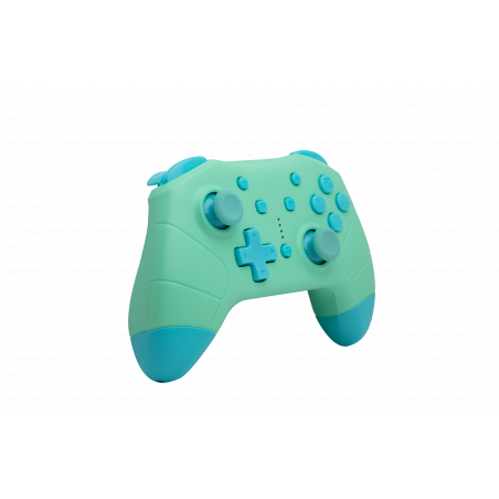 Nintendo Switch - Draadloze Bluetooth Controller - Groen met Blauw