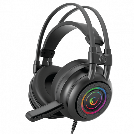 Rampage Quadro 7.1 RGB gaming headset RM-K2 - Surround Sound - PC