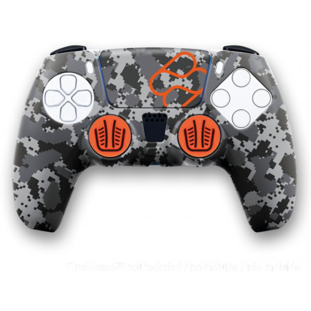 Playstation 5 - Siliconen controller skin en thumb grips voor PS5 DualSense controller - Camouflage