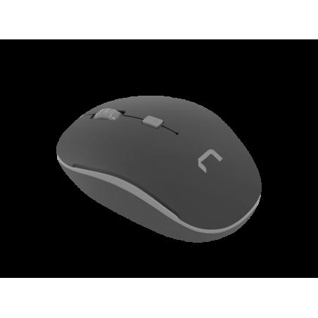 Natec Martin optische draadloze muis Zwart - Grijs