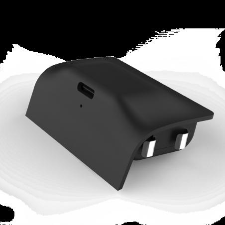 xbox series x - Play and Charge Kit - Nylon gevlochten oplaadkabel en batterij voor de xbox series x - 3 meter