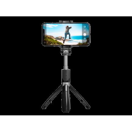 Natec Alvito draadloze selfie stick met tripod functie en bluetooth 4.0