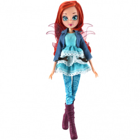 Winx GLAMOUR FRIENDS Bloom speelpop - 26cm