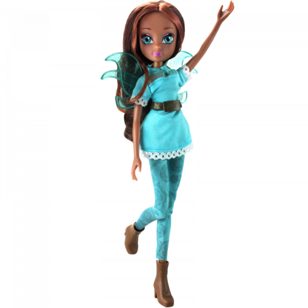 Winx GLAMOUR FRIENDS Aisha/Layla speelpop - 26cm