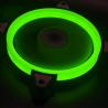 Rampage Everest 4C-15 - Case Fan Groen - 25 mm