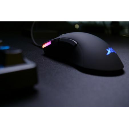 Xtrfy M1 RGB Gaming muis zwart