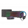 Fury Thunderstreak - 4 in 1 PC Gaming combo set V3 - Toetsenbord US layout - Headset - Muis en Muismat