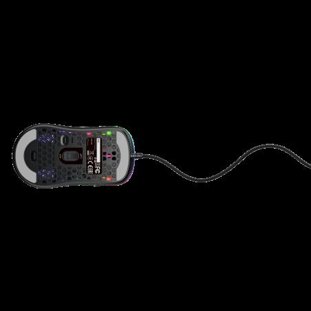 Xtrfy M42 RGB Gaming muis zwart