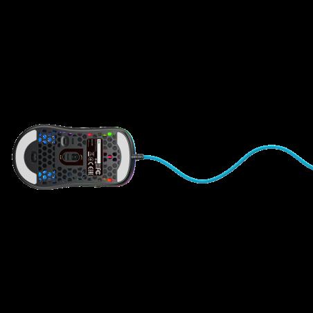Xtrfy M42 RGB Gaming muis miami blue