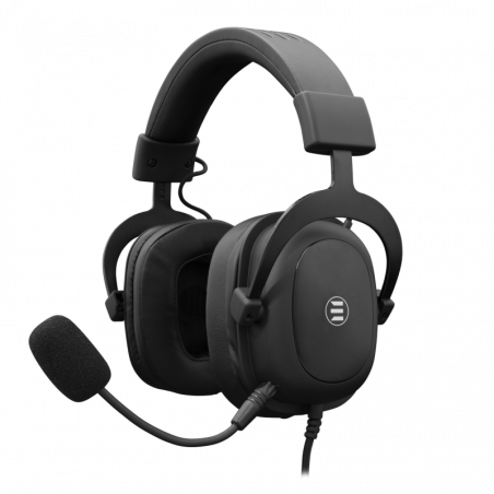 eShark TAIKO ESL-HS4 PC en PS4 7.1. Surround sound Gaming Headset met USB aansluiting - Zwart