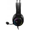 White Shark WOLF GH-2044 USB Gaming Headset voor PS4 en PC met RGB verlichting - Zwart