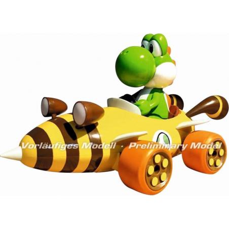 Carrera Mario Kart RC auto Bumble Yoshi