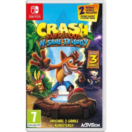 Crash Bandicoot N. Sane Trilogy - Nintendo Switch Game