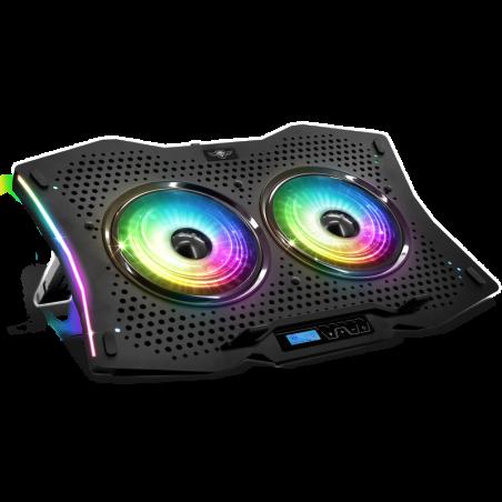 Airblade 1000 RGB Laptop cooling pad tot 17 inch
