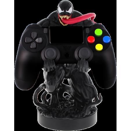 Cable Guy Venom (SpiderMan) telefoon en game controller houder met usb oplaadkabel