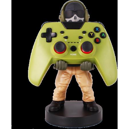 Cable Guy Ghost (Call of Duty) telefoon en game controller houder met usb oplaadkabel