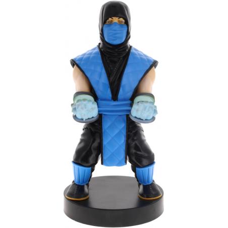 Cable Guy Mortal Kombat Sub Zero telefoon en game controller houder met usb oplaadkabel