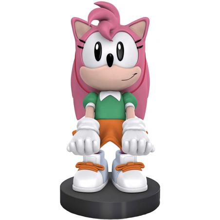 Cable Guy Amy Rose (Sonic) telefoon en game controller houder met usb oplaadkabel