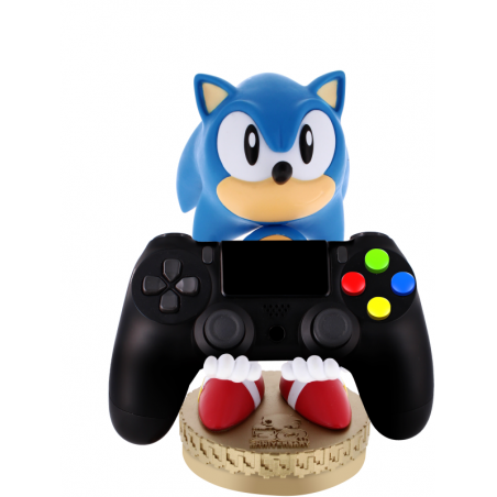 Cable Guy Super Sonic 30th Anniversary  Special Edition telefoon en game controller houder met usb oplaadkabel