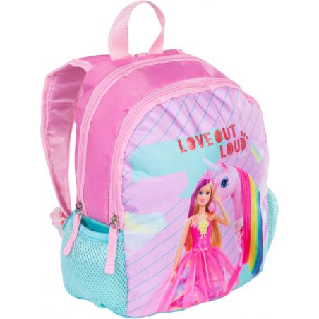 Barbie rugzak love it loud 30 cm hoog