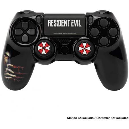 Resident Evil Umbrella PS4 controller skin en thumbgrip combo set