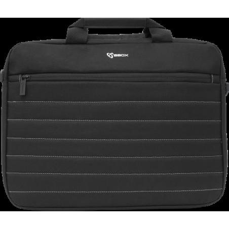 Sbox 15,6 inch Laptoptas Copenhagen - zwart