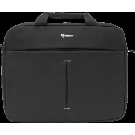 Sbox 15,6 inch Laptoptas Athens - zwart