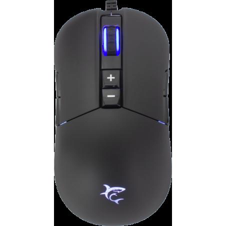 White Shark GM-9005 ARTHUR Gaming muis met RGB en 10.000 dpi - Zwart