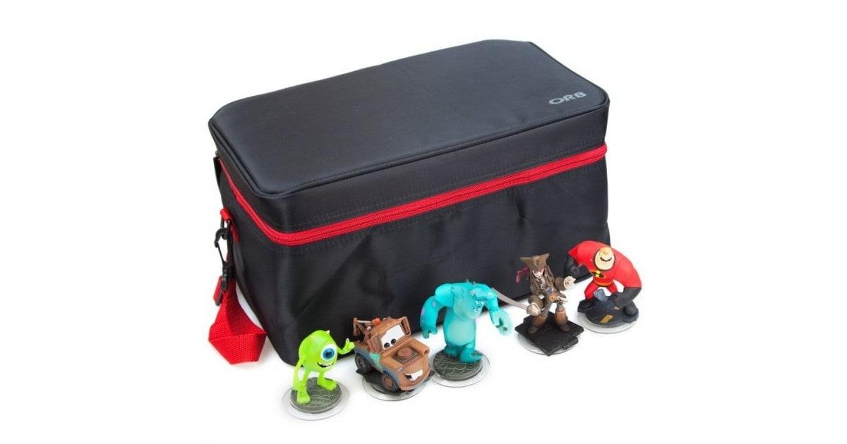 Character Figure Storage Bag
