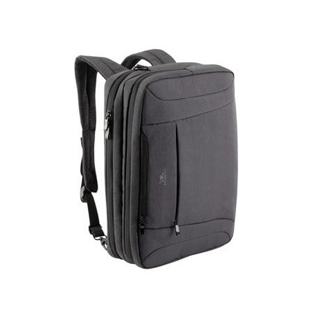 RivaCase charcoal black convertible Laptop bag/backpack 16""