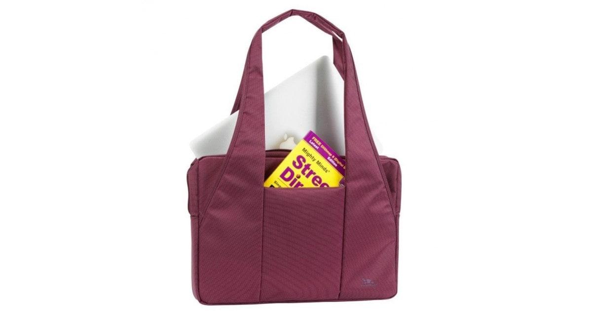 """RivaCase purple Laptop bag 15,6"""""""