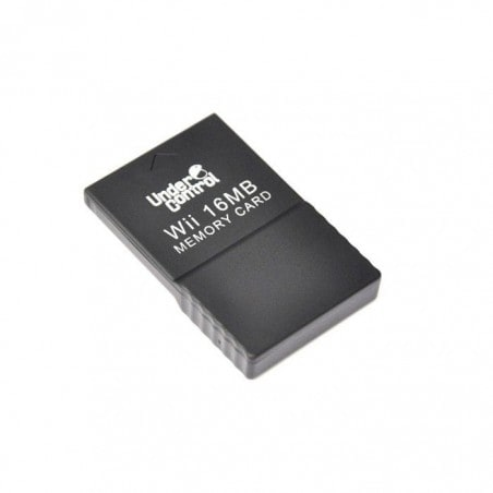Under Control Memory Card - Wii en GameCube - 16MB - Wit