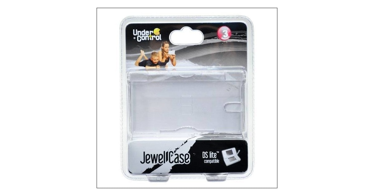 Under Control Crystal Case for DS Lite