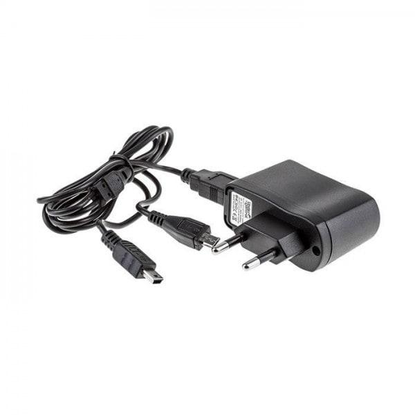 Under Control Charger DS Lite / Dsi / DSi XL / 3DS / 3DS XL- zwart