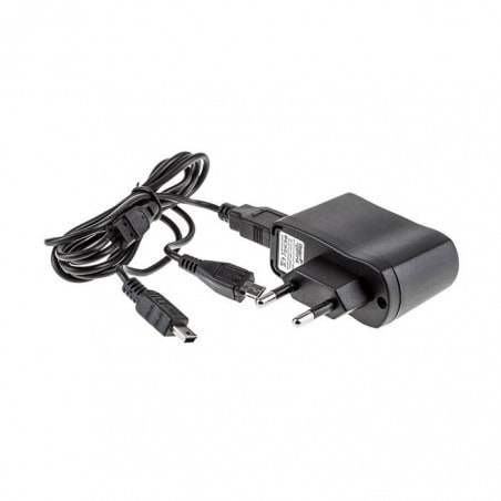 Under Control Charger DS Lite / Dsi / DSi XL / 3DS / 3DS XL- zwart
