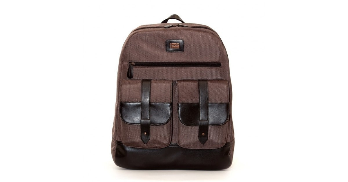 Jill-e Jack Laptop Backpack bruin