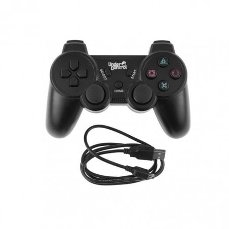 Under Control PS3 Bluetooth Controller Zwart