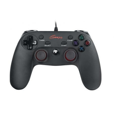 Genesis PS3/PC Bedrade Gamepad P65, zwart