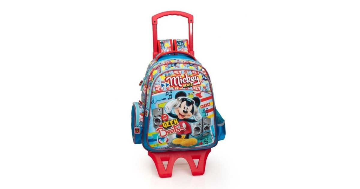 Mickey Mouse Rugzak met Trolley