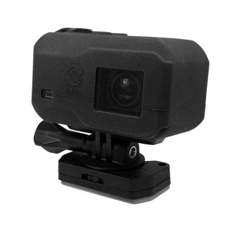 Tuff-Luv Silicone Gel hoes voor Garmin Virb X / XE Camera- Zwart