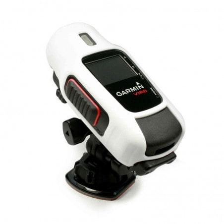 Tuff-Luv Silicone Gel bescherm hoes voor Garmin Virb / HD Elite Camera- Wit