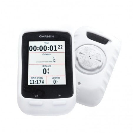 Tuff-Luv Silicone gel bescherm hoes voor Garmin 510 en screen protector- Wit