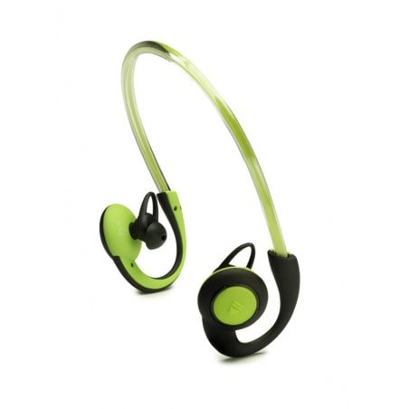 Boompods In-Ear Sports Headphones met Licht - Groen